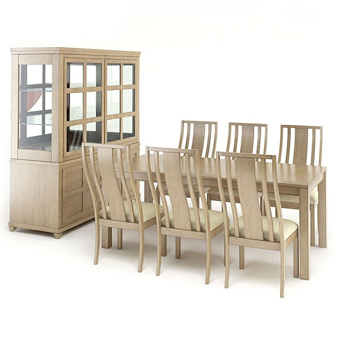 American furnitures set 8 AM65 Archmodels