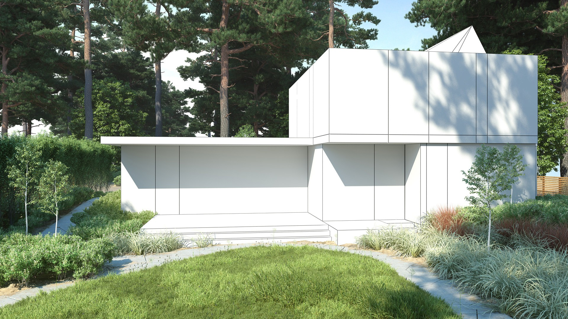 Scene 2 ae30 archexteriors max psd exterior evermotion - Vray exterior rendering settings pdf ...