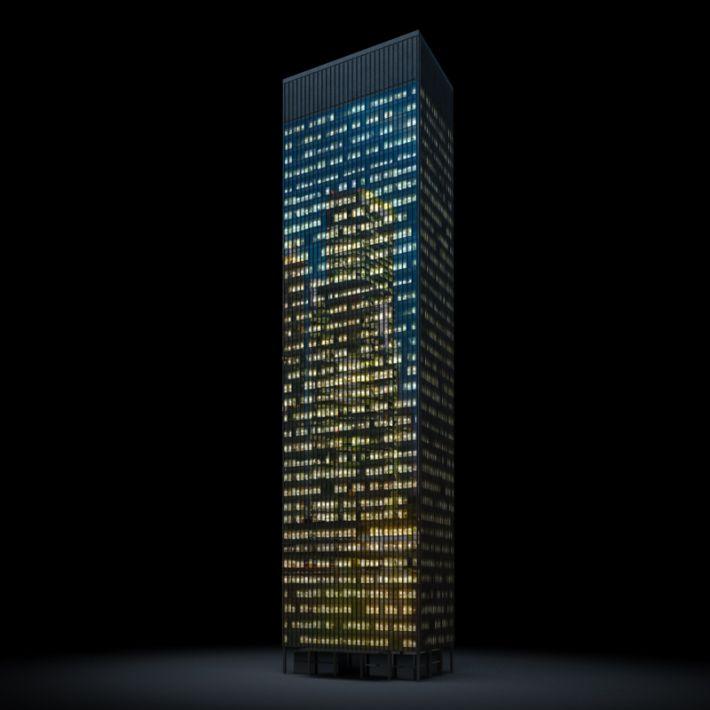 skyscraper 14 AM103 Archmodels