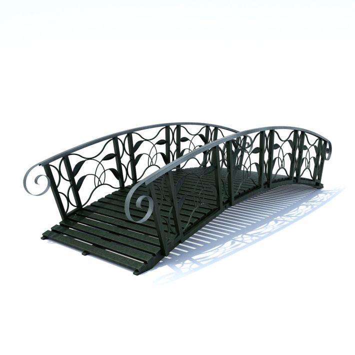 garden bridge 47 AM105 Archmodels