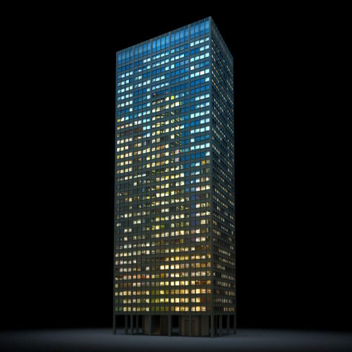 skyscraper 20 AM103 Archmodels
