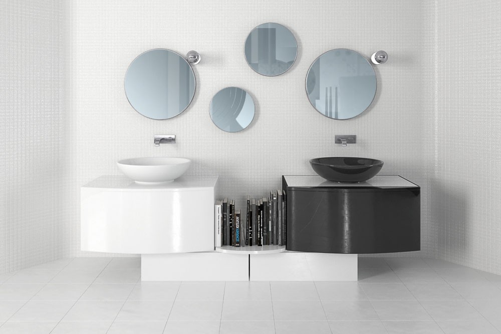 Bathroom furniture 30 AM168 Archmodels