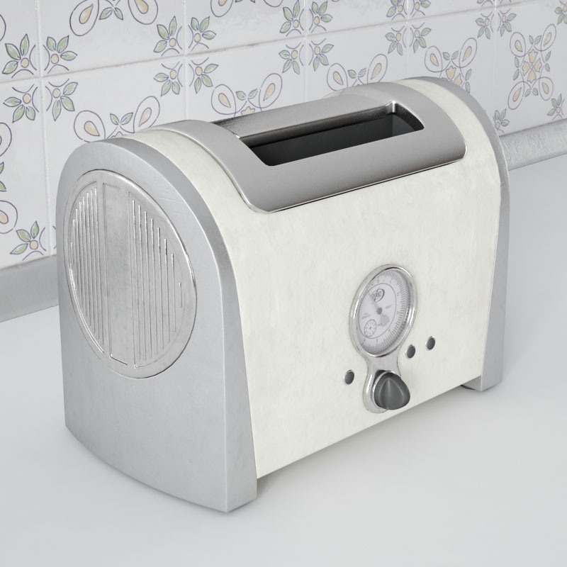 toaster 20 AM143 Archmodels