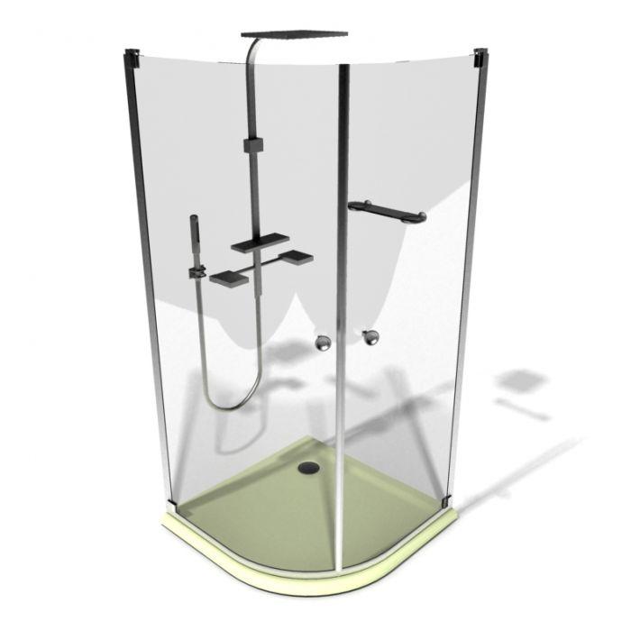 shower cabin 92 AM15 Archmodels