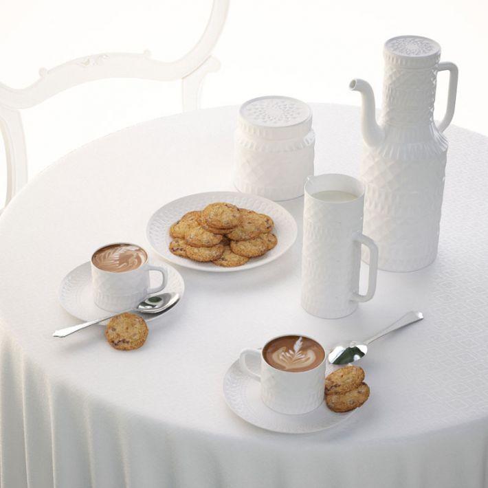 porcelain set 10 AM108 Archmodels