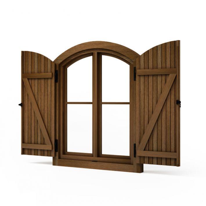 window shutters 78 AM95 Archmodels