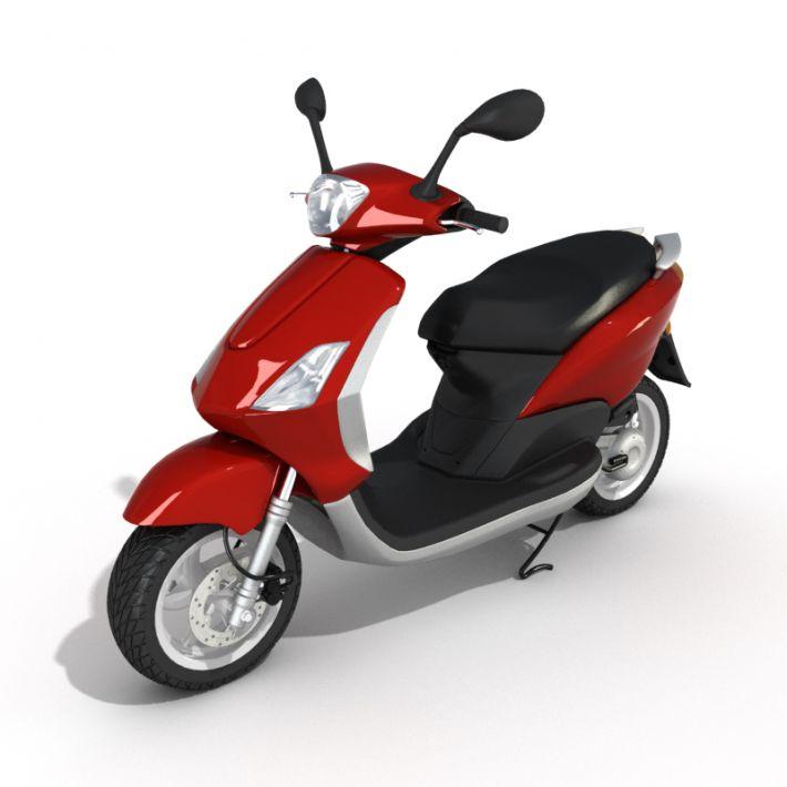 motorbike 3 AM55 Archmodels