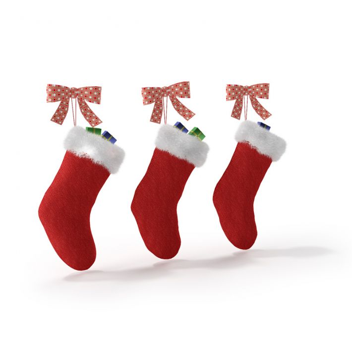 Christmas socks 25 AM88 Archmodels