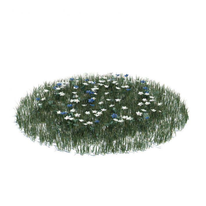 simple grass large 123 AM124 Archmodels