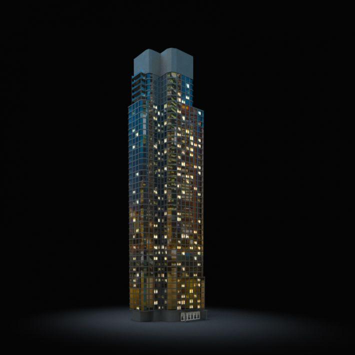 skyscraper 45 AM103 Archmodels