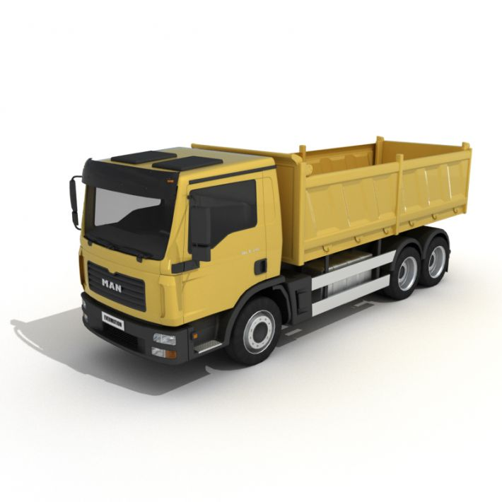 dumper truck 22 AM55 Archmodels