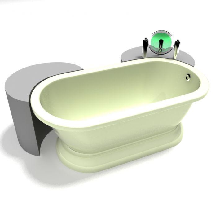 bathtub 4 AM15 Archmodels