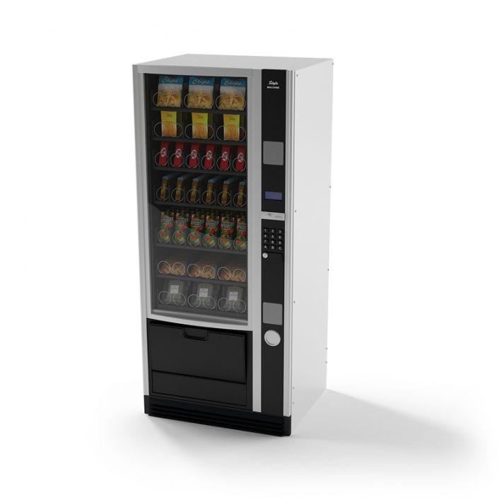 snack vending machine 13 AM87 Archmodels