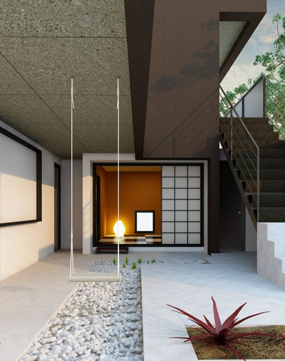 Archinteriors vol 18 max collection evermotion - Patio ingles ...