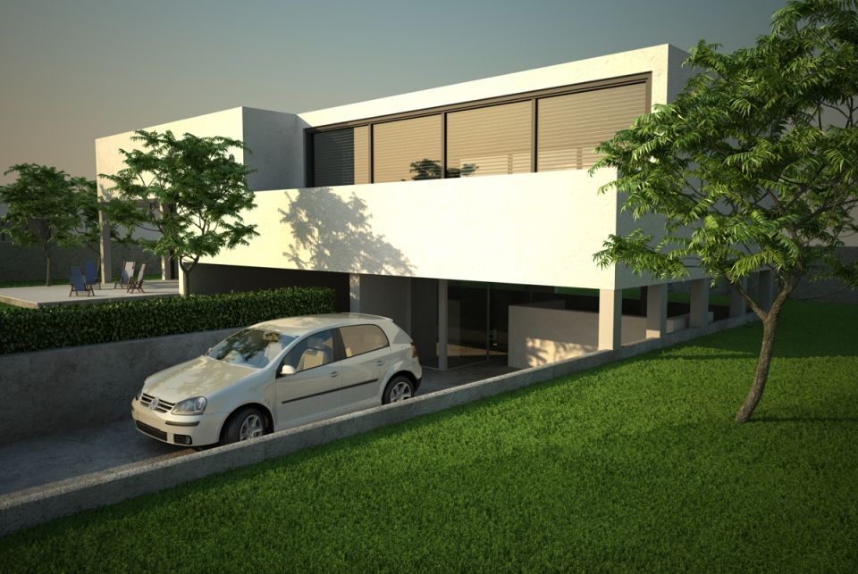 Scene 01 Archexteriors Vol. 01 for Cinema4D