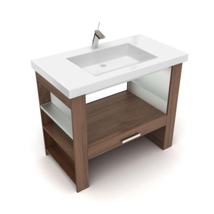 bathroom furniture set 28 AM56 Archmodels