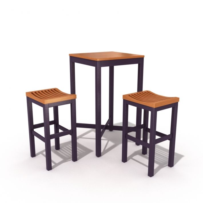 table & chair set 20 AM54 Archmodels
