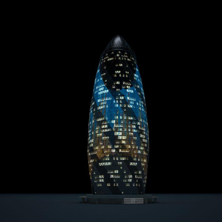 skyscraper 49 AM103 Archmodels