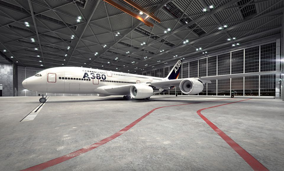Airbus a380 am73