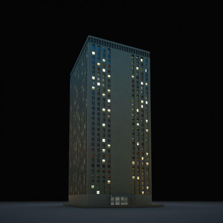 skyscraper 78 AM103 Archmodels