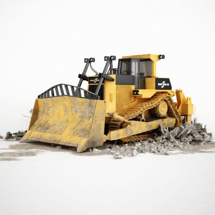bulldozer 9 AM115 Archmodels