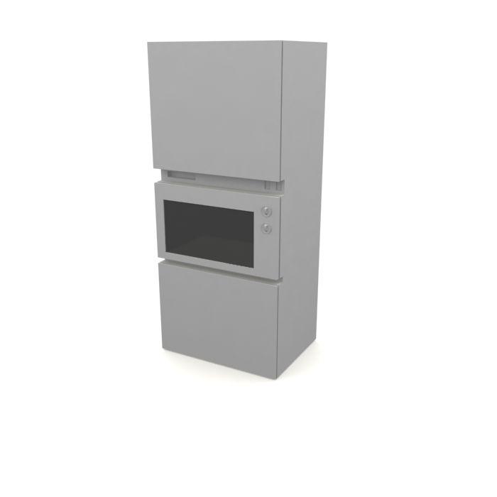 kitchen furniture 102 AM10 Archmodels