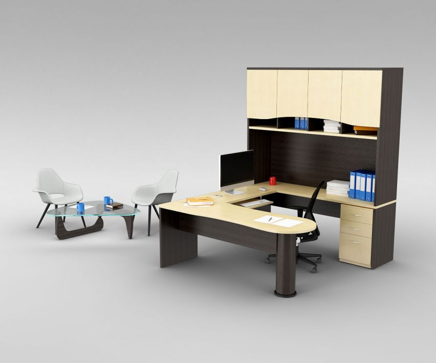 office set 13 AM110 Archmodels
