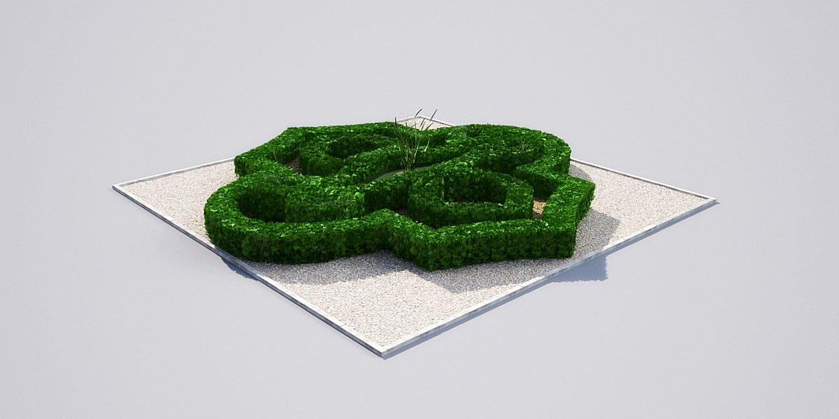 hedge 19 2 AM148 Archmodels