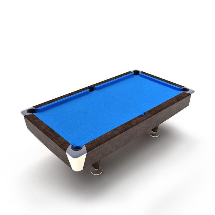 billiard table 23 AM47 Archmodels