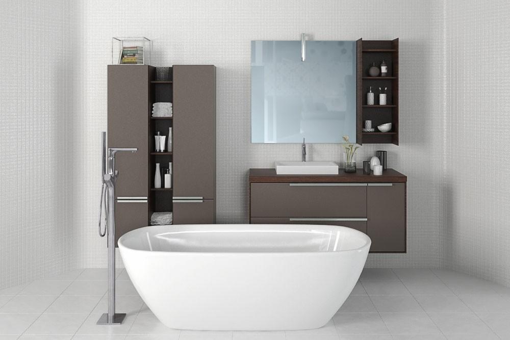 Bathroom furniture 4 AM168 Archmodels