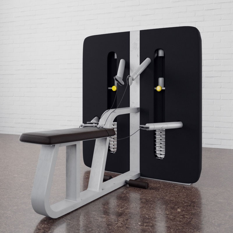 Gym equipment 11 AM169 Archmodels