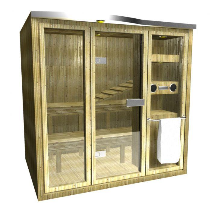 sauna 113 AM15 Archmodels