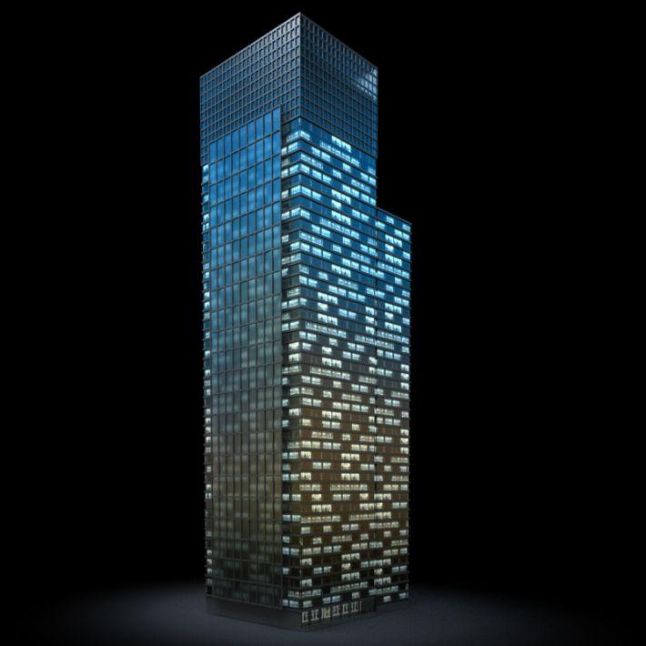 skyscraper 1 AM103 Archmodels