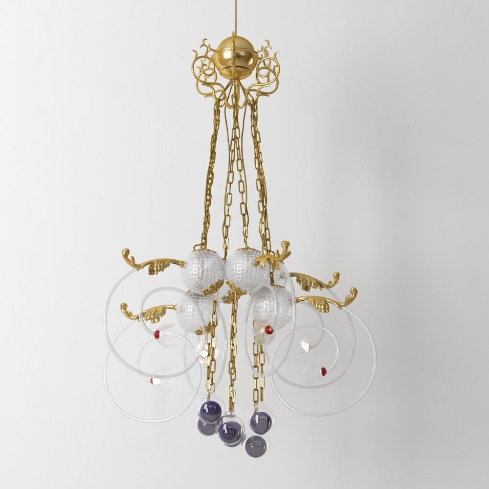 chandelier 38 AM175 Archmodels
