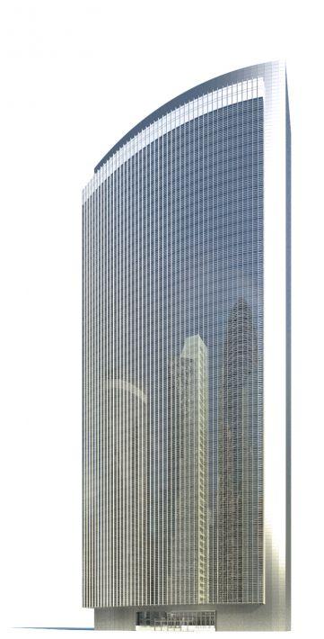 skyscraper 8 AM71 Archmodels