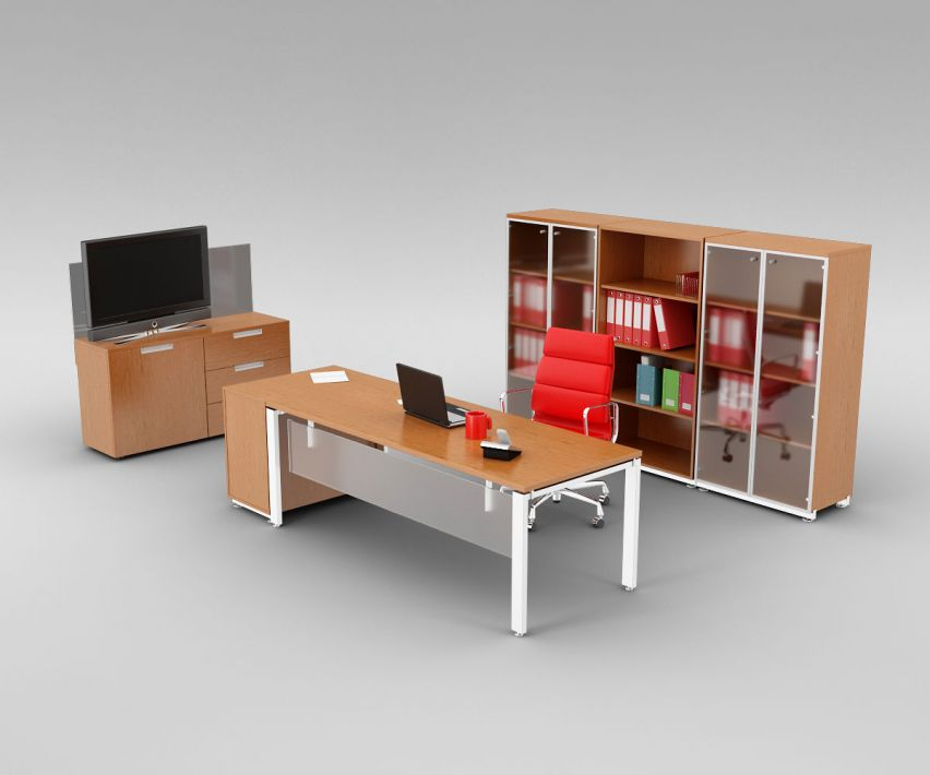 office set 9 AM110 Archmodels