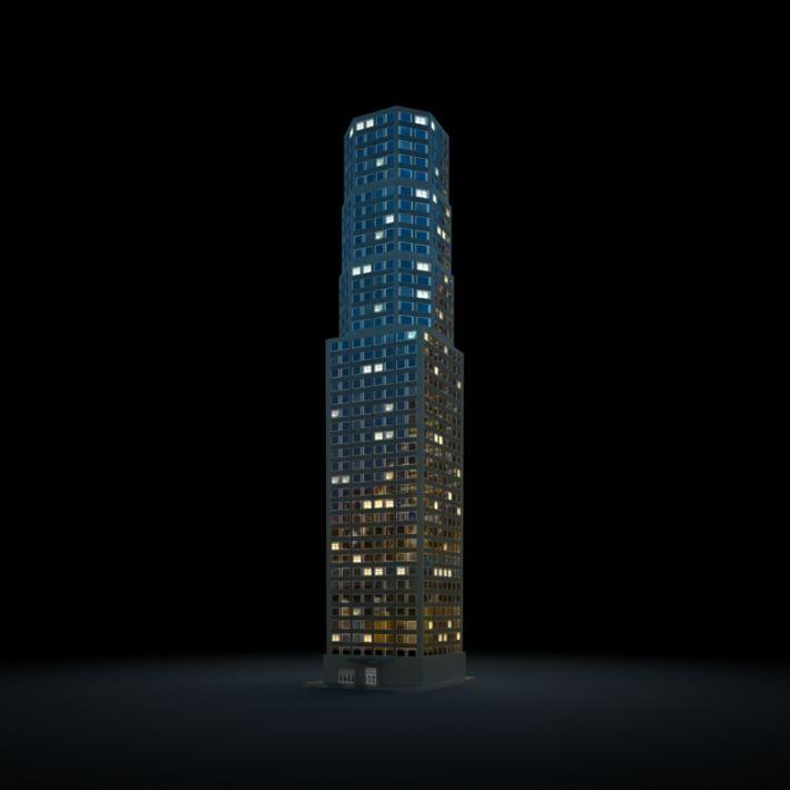 skyscraper 66 AM103 Archmodels