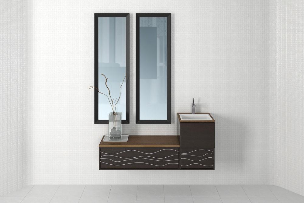 Bathroom furniture 24 AM168 Archmodels