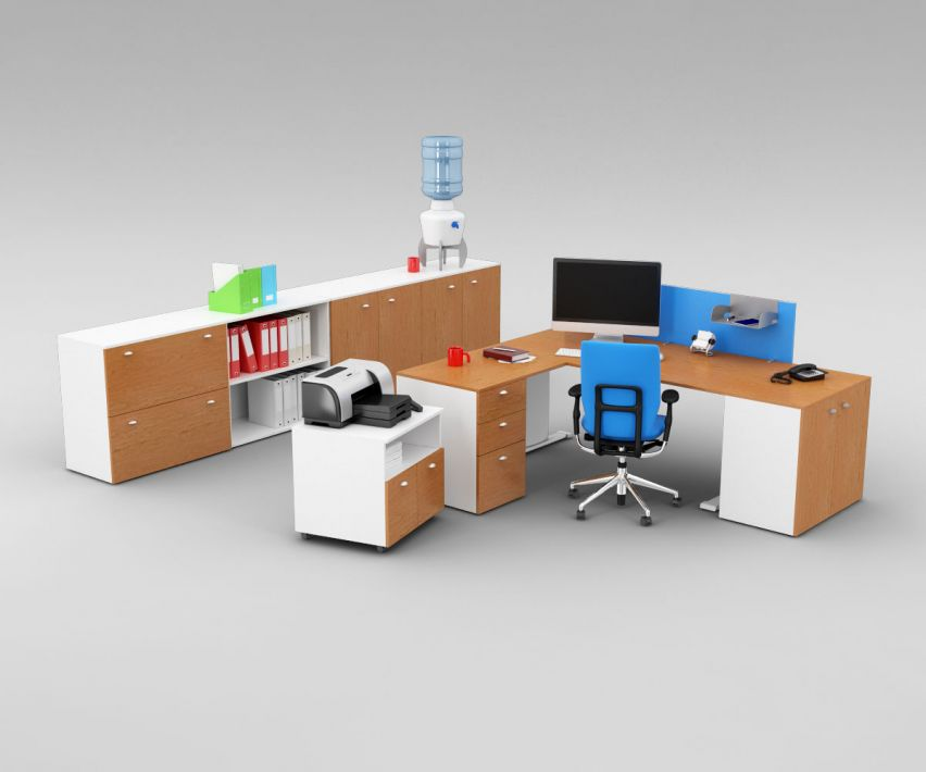 office set 22 AM110 Archmodels