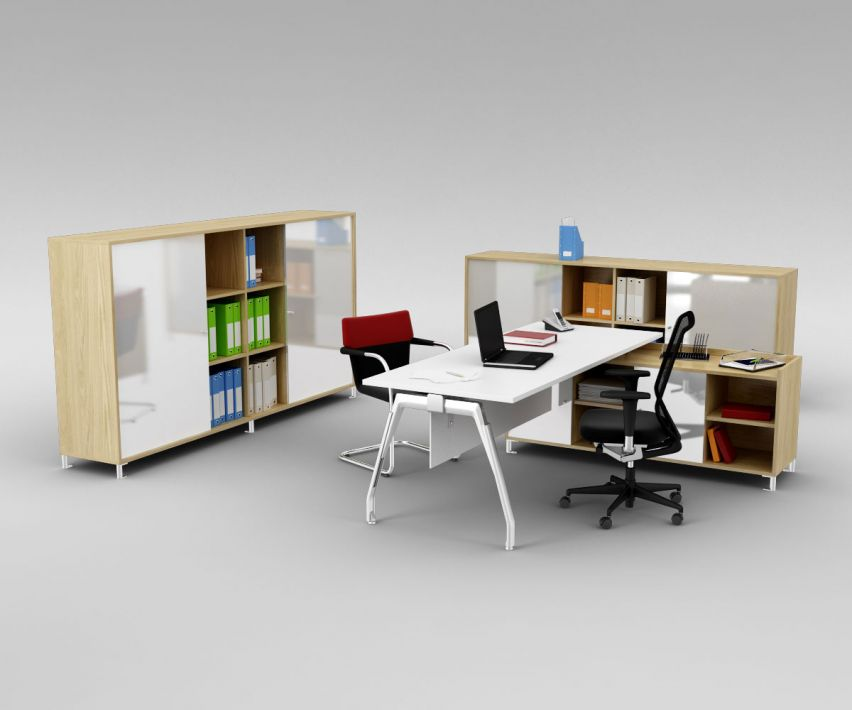 office set 18 AM110 Archmodels