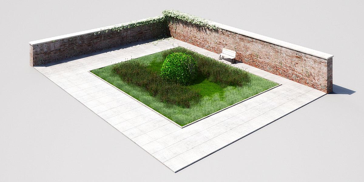 garden 3 1 AM148 Archmodels