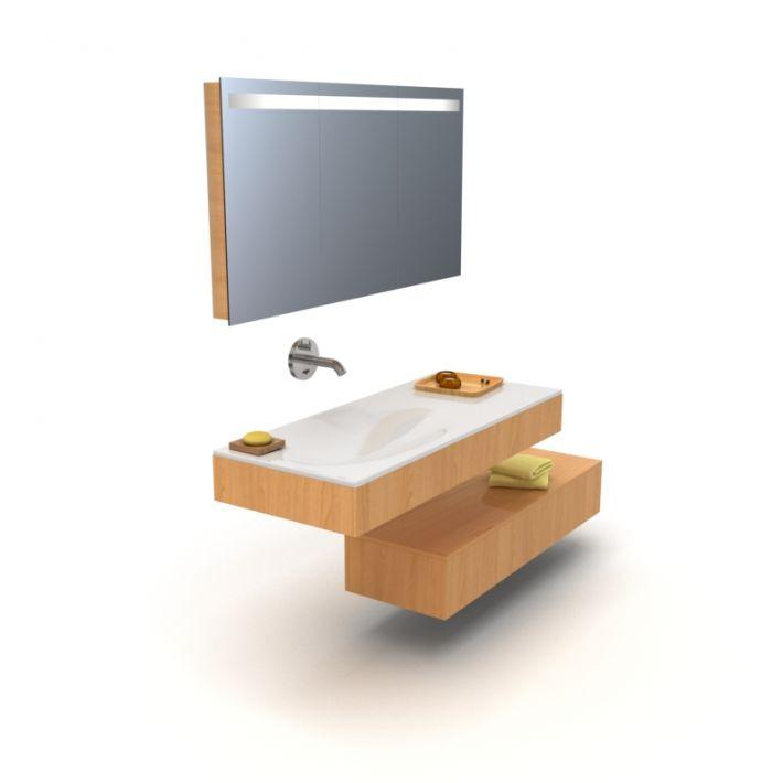 bathroom furniture set 8 AM56 Archmodels
