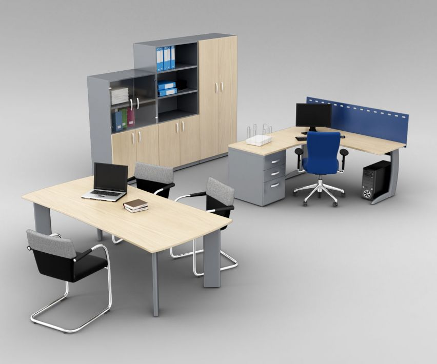 office set 4 AM110 Archmodels