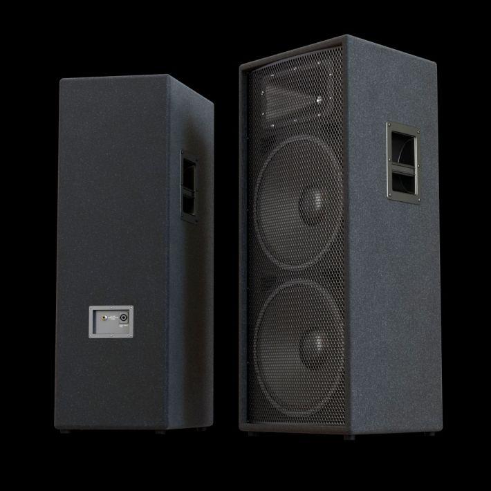 loudspeaker 53 AM104 Archmodels