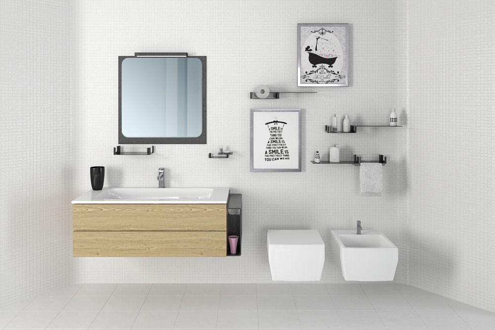 Bathroom furniture 38 AM168 Archmodels