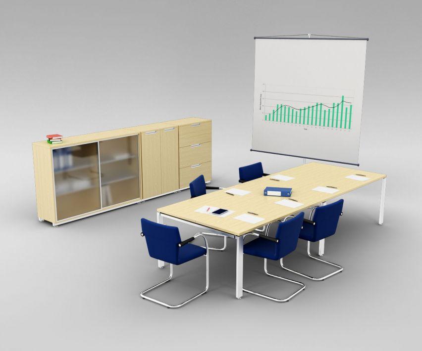 office set 8 AM110 Archmodels