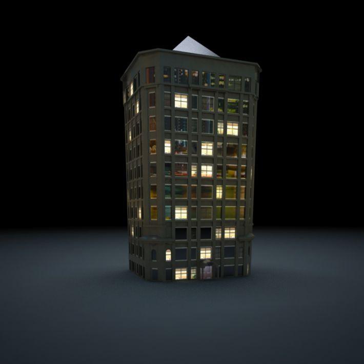 skyscraper 80 AM103 Archmodels
