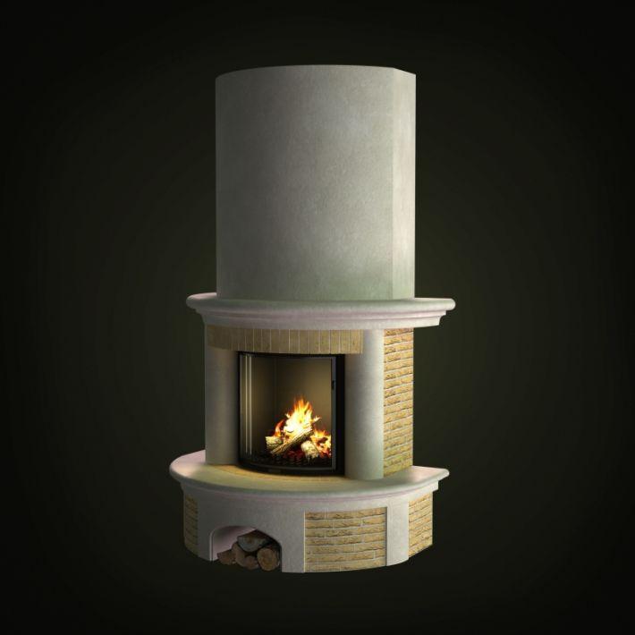 fireplace 51 AM97 Archmodels