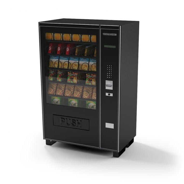 snack vending machine 14 AM87 Archmodels