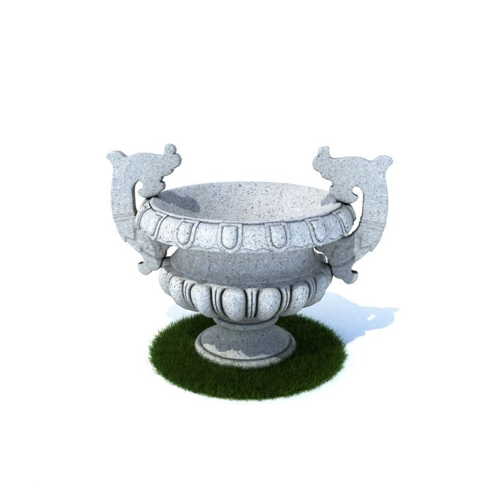 flower pot 9 AM105 Archmodels